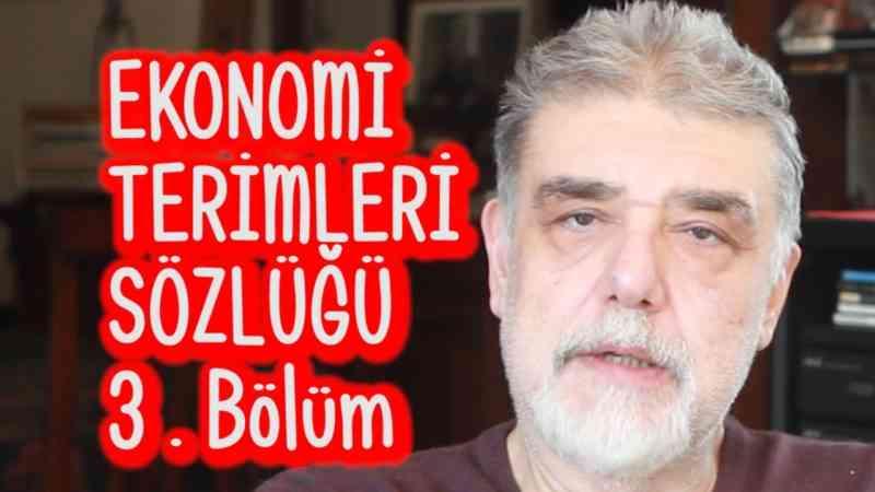 Atilla Yeşilada - Ekonomi ve Finans Terimleri Sözlüğü - 3. Bölüm