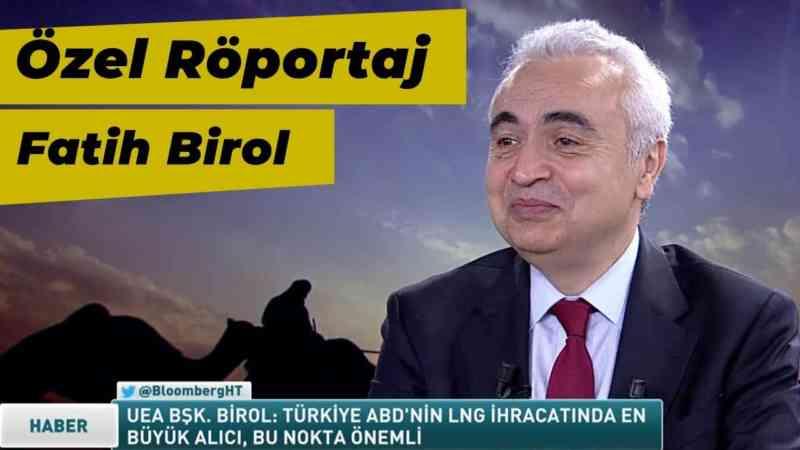 Özel Röportaj | Uluslararası Enerji Ajansı Başkanı Fatih Birol