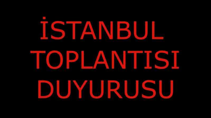 İSTANBUL BULUŞMASI DÜZELTME - YENİ ADRES..