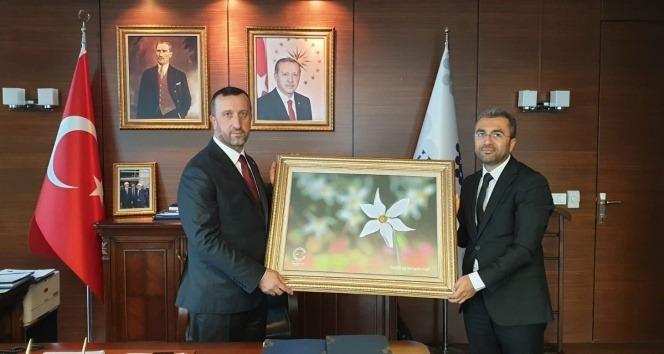 Başkan Say'dan İLBANK Genel Müdürü Büyük'e ziyaret