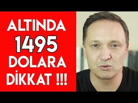 Altında 1495 Dolara Dikkat !!!