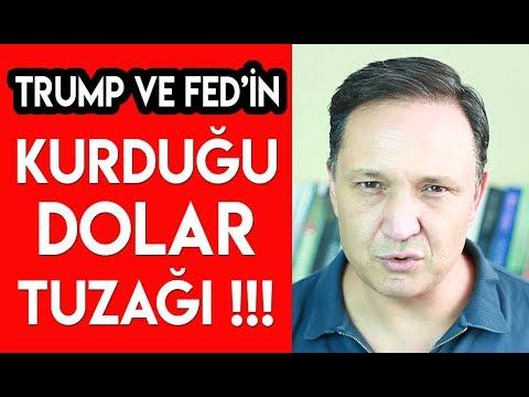 Trump ve FED'in Kurduğu Dolar Tuzağı !!!