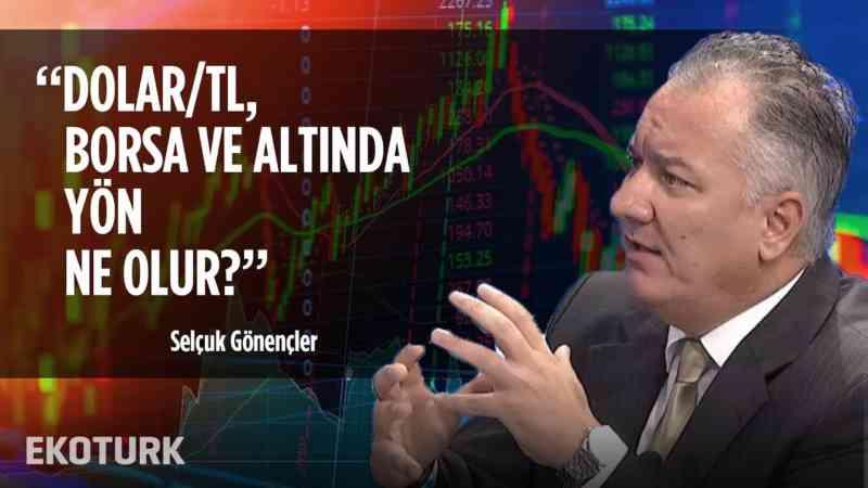 Dolar/TL & Borsa & Altın Teknik Analizi   Selçuk Gönençler   25 Ekim 2019