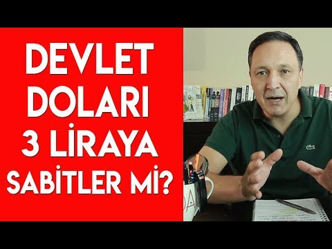 Devlet Doları 3 Liraya Sabitler mi?