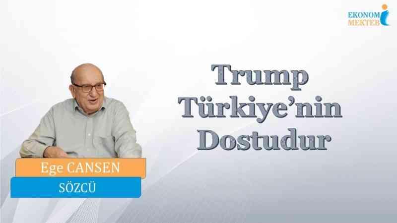Ege Cansen - Trump Türkiye'nin Dostudur [Ekonomi Mektebi]