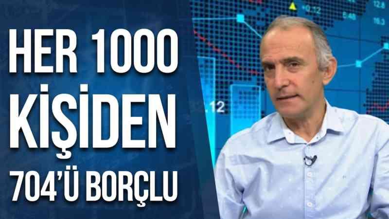 Her 1000 Kişiden 704'ünün Borcu Var! | Emin Çapa