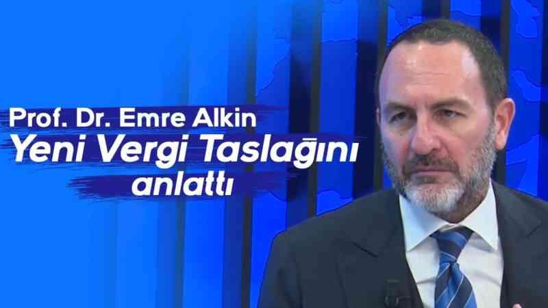 Prof. Dr. Emre Alkin, yeni vergi taslağını anlatıyor l Parasal l 1.Kısım l 24 Ekim 2019