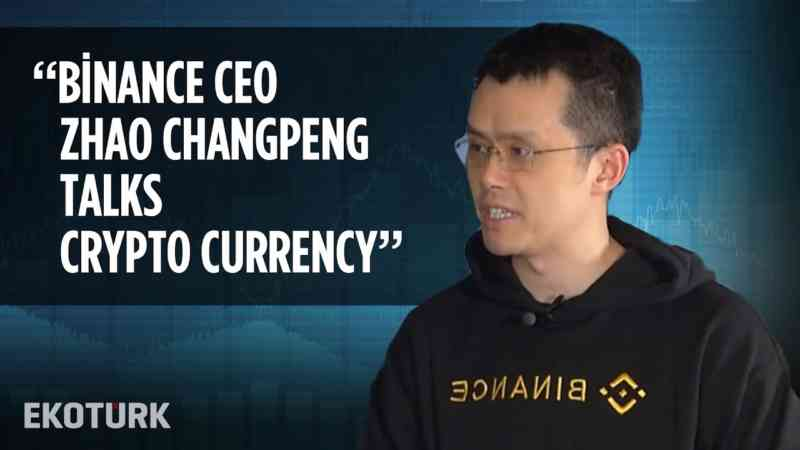 Binance CEO Changpeng Zhao in Ekotürk!