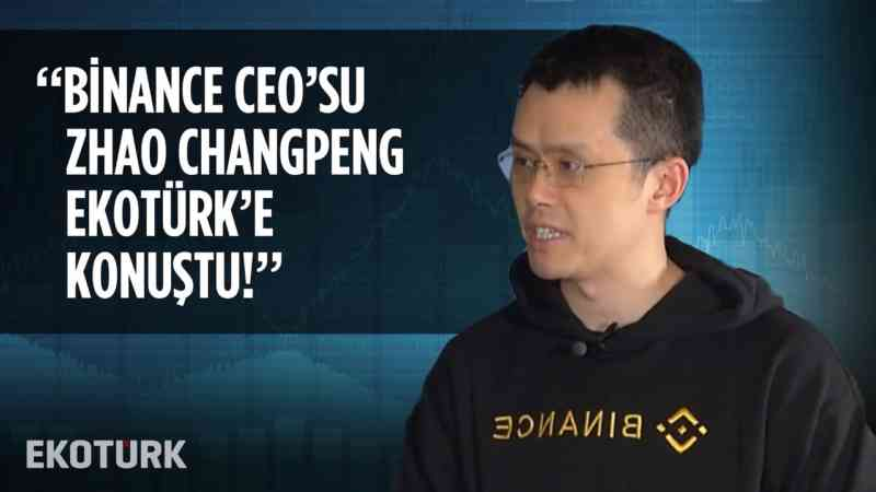 Binance Kurucusu Changpeng Zhao Ekotürk'te! | Özlem Dalga