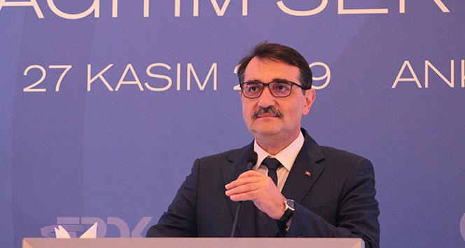 Enerji ve Tabii Kaynaklar Bakanı Dönmez: '30-35 günlük doğal gaz talebini karşılayabilecek kapasitedeyiz'