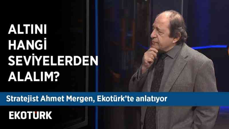 Ahmet Mergen Dolar/TL & Altını & Hisseleri yorumluyor | 27 Aralık 2019