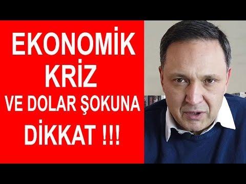 Ekonomik Kriz ve Dolar Şokuna Dikkat ! Ekonomist Selçuk Geçer