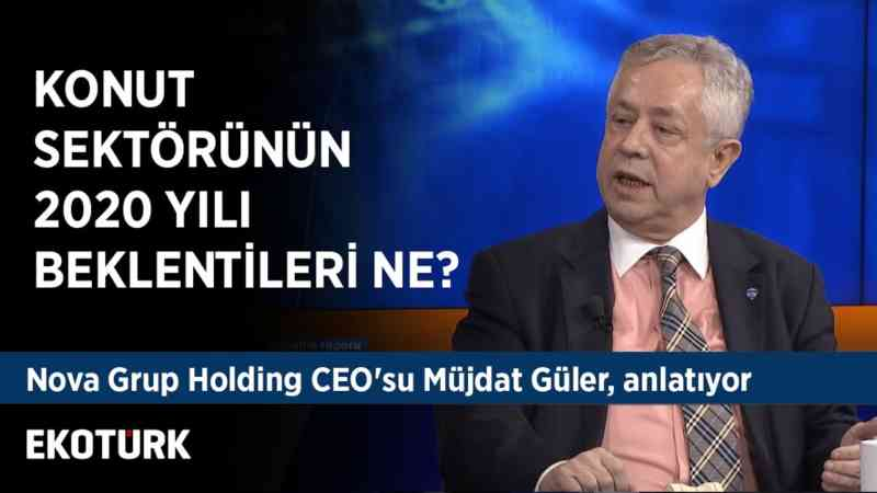 Türkiye'de Konut Sektörü | Müjdat Güler | 2 Aralık 2019