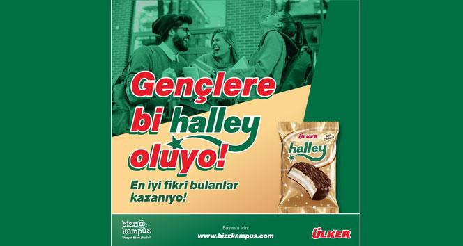 'Bizz@kampüs'te üniversiteliler, fikirlerini 'Ülker Halley' için yarıştıracak