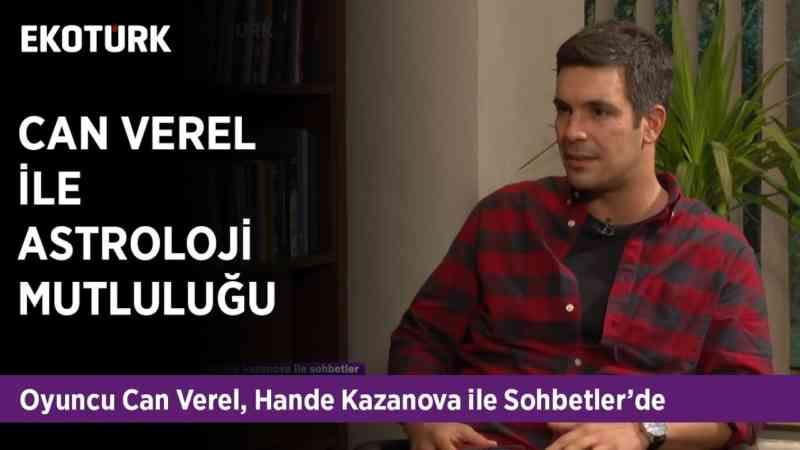 Yemin dizisinin Yakışıklı Oyuncusu Can Verel, Hande Kazanova'nın konuğu!