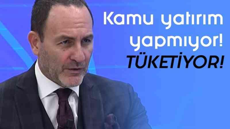 """""""Kamu yatırım yapmıyor... Tüketiyor! - Parasal - 1.Kısım - 20 Aralık 2019 - Prof. Dr. Emre Alkin"""