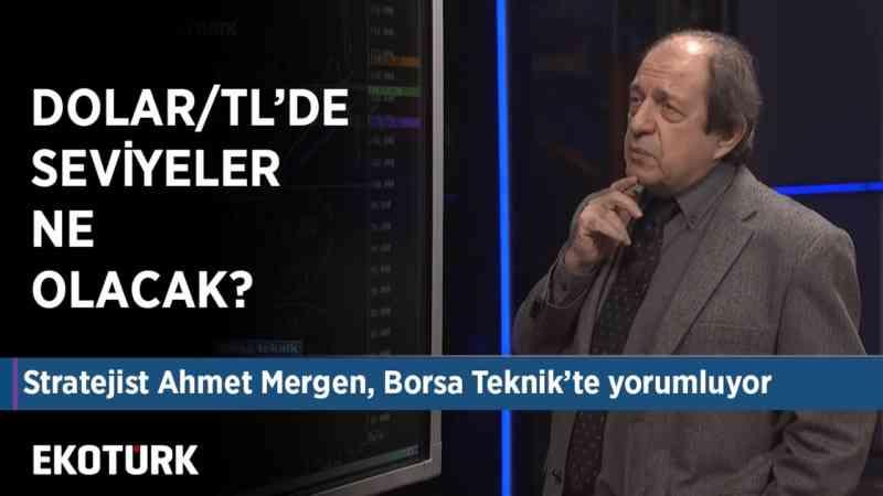 Dolar/TL bu seviyelerde devam eder mi?   Ahmet Mergen yorumluyor   20 Aralık 2019