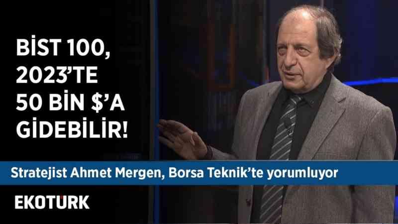 Ahmet Mergen Borsa İstanbul'u & Altını & Hisseleri yorumluyor | 25 Aralık 2019