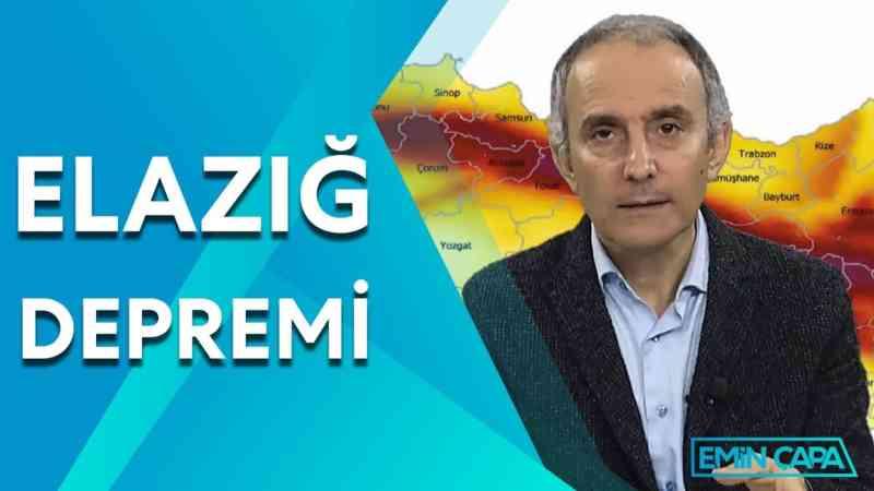 Elazığ Depremi ve Olası istanbul Depremi | Emin Çapa