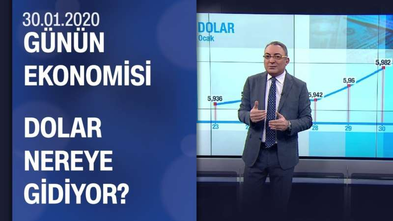 Piyasalarda son durum - Günün Ekonomisi 30.01.2020 Perşembe