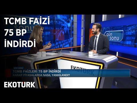 TCMB Faizi 75 Bp İndirdi | Gün Sonu | Özlem Karakullukçu