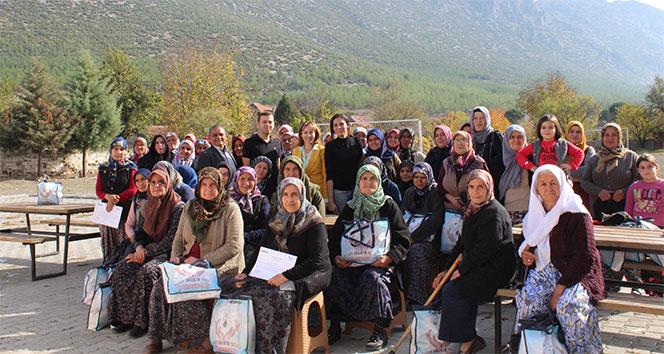 'Hijyen Sağlıktır' projesi 26 farklı kırsal bölgedeki 2 bin kadına ulaştı