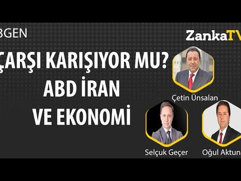 Çarşı karışıyor mu? ABD İran ve Ekonomi!   Selçuk Geçer   Çetin Ünsalan   Oğul Aktuna   3GEN