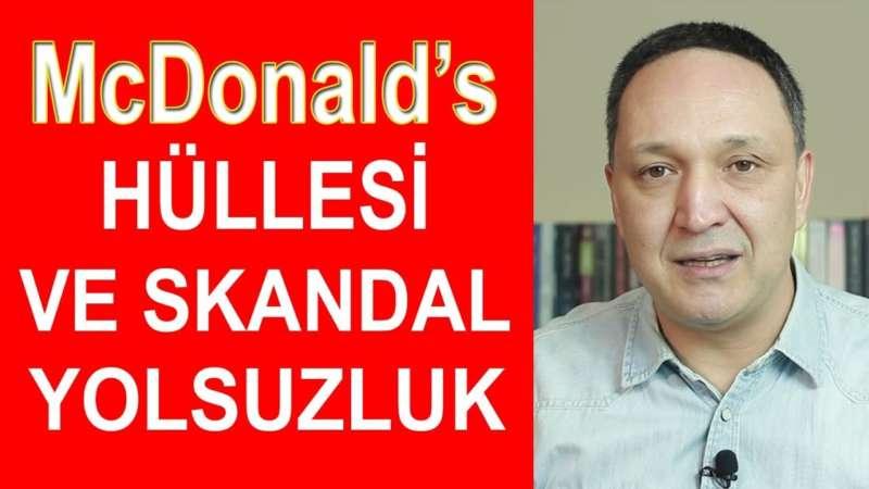 McDonald's Hüllesi ve Skandal Kızılay Yolsuzluğu !!! selçuk geçer