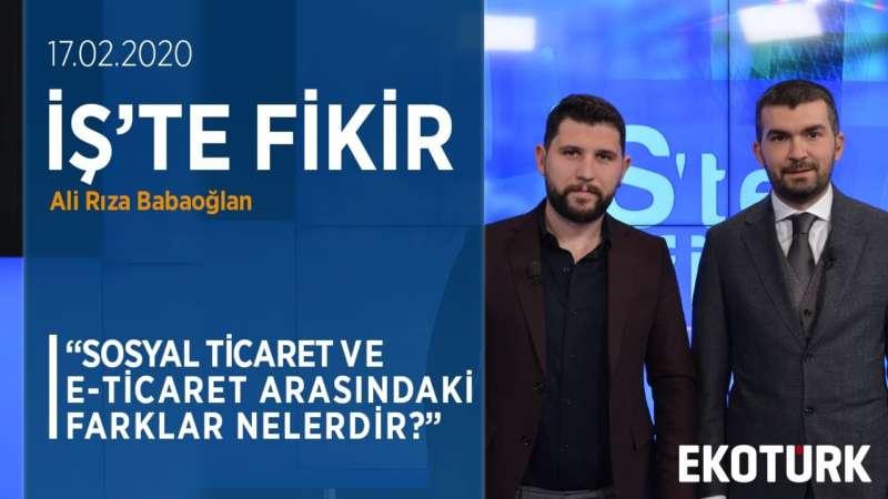 Sosyal Ticaret Pazarının Türkiye'de Ve Dünyada Gelişimi | Ali Rıza Babaoğlan | Sabrican Zaim