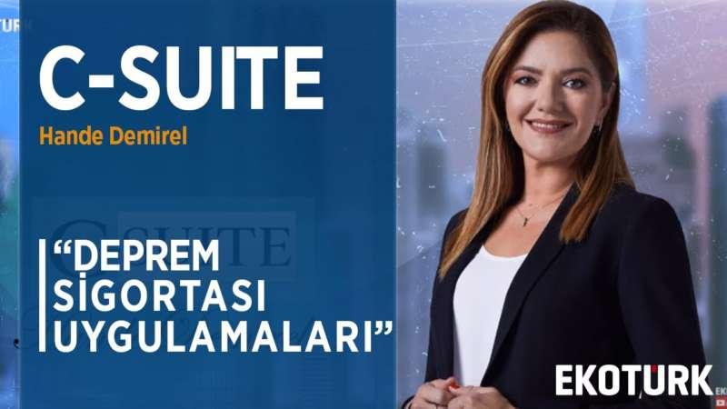 Türkiye'de Deprem Sigortası Konusunda Yeterli Bilinç Oluştu Mu?   Hande Demirel   Mine Ayhan