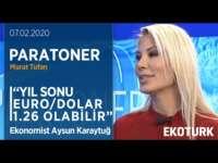 Yıl Sonunda Euro/Dolar Hangi Seviyelere Gelecek? | Aysun Karaytuğ