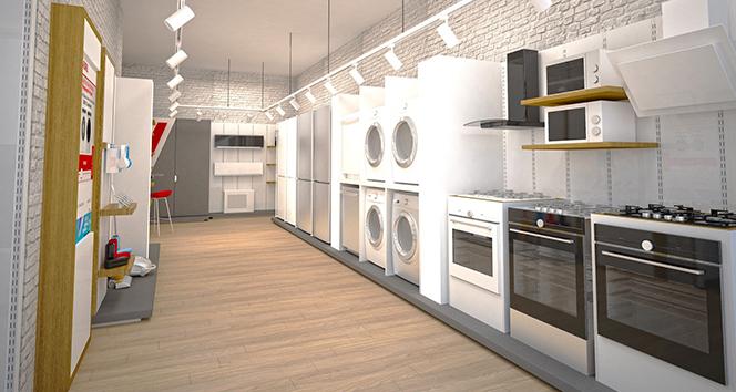 Vestel'in yeni nesil mağaza konsepti 'Vestel Ekspres' hizmet vermeye başladı
