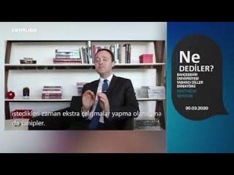 ÖĞRENCİLER ONLINE EĞİTİME NASIL TEŞVİK EDİLİR? | Matthew Benton | Ne Dediler?
