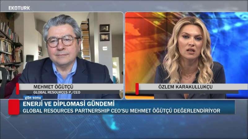 ENERJİ VE DİPLOMASİ GÜNDEMİ |  Özlem Karakullukçu | Mehmet Öğütçü | 20.03.2020