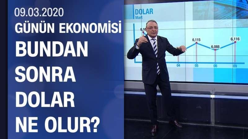 Piyasalarda son durum - Günün Ekonomisi 09.03.2020 Pazartesi