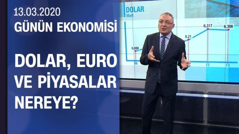 Piyasalarda son durum - Günün Ekonomisi 13.03.2020 Cuma