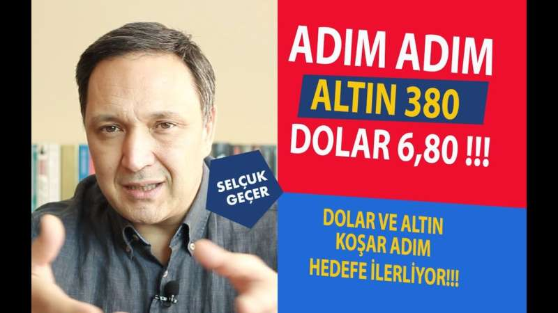 ADIM ADIM DOLAR 6,80 ALTIN 380 !!!