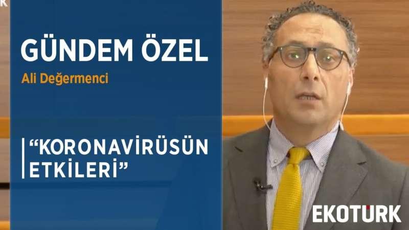 KORONAVİRÜSÜN NEDEN OLDUĞU EKONOMİK KAYIP 6 TRİLYON DOLAR | Ali Değermenci | Prof. Dr. Emre Alkin
