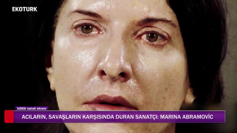 MARINA ABRAMOVIC ''AKIŞ'' SERGİSİ