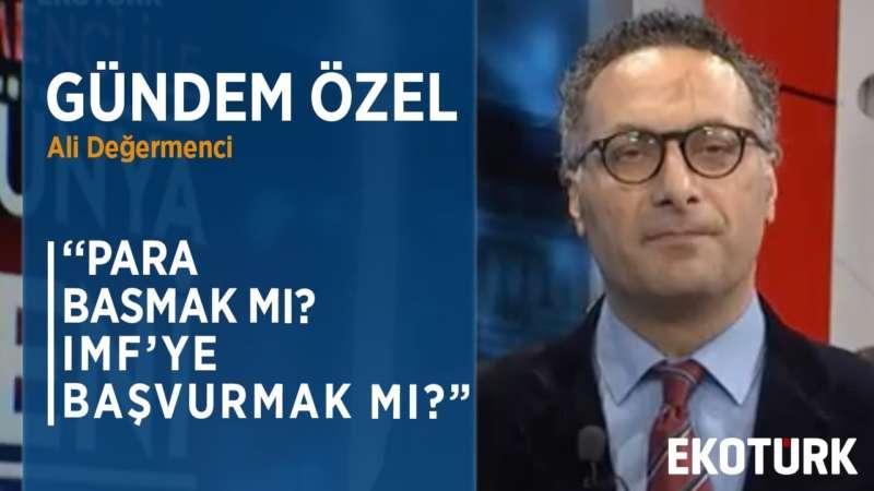 DÜNYA EKONOMİSİ KRİZDEN KURTULABİLECEK Mİ?   Prof. Dr. Emre Alkin   Ali Değermenci   30.03.2020