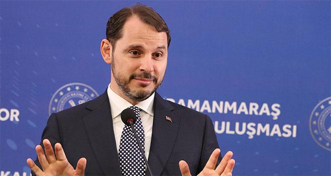 Hazine ve Maliye Bakanı Albayrak'tan önemli açıklamalar