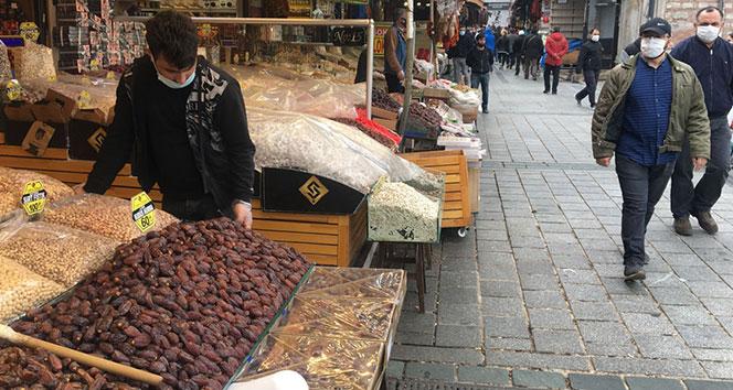Korona virüs Ramazan alışverişini de etkiledi