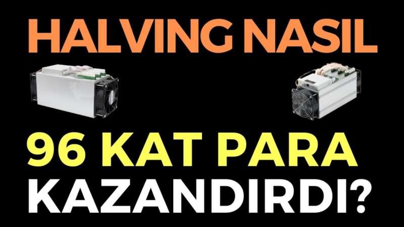 HALVING NASIL 96 KAT PARA KAZANDIRDI, EKONOMİ HABERLERİ - DÜNYANIN HABERİ 96 - 13.05.2020