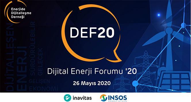 Dijital Enerji Forumu '20, 26 Mayıs'ta başlıyor