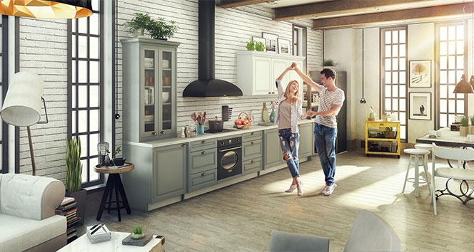 İntema, mutfak tasarımlarını eve getirdi