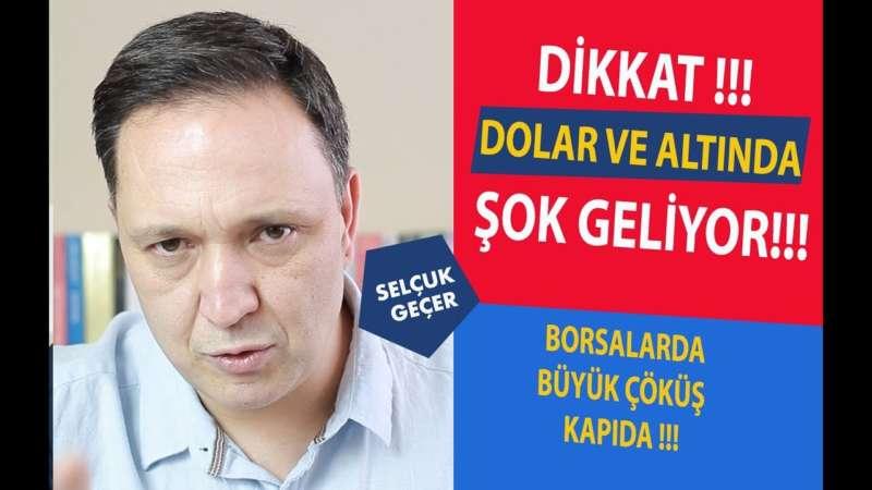 ALTIN VE DOLARDA ŞOK GELİYOR !!!