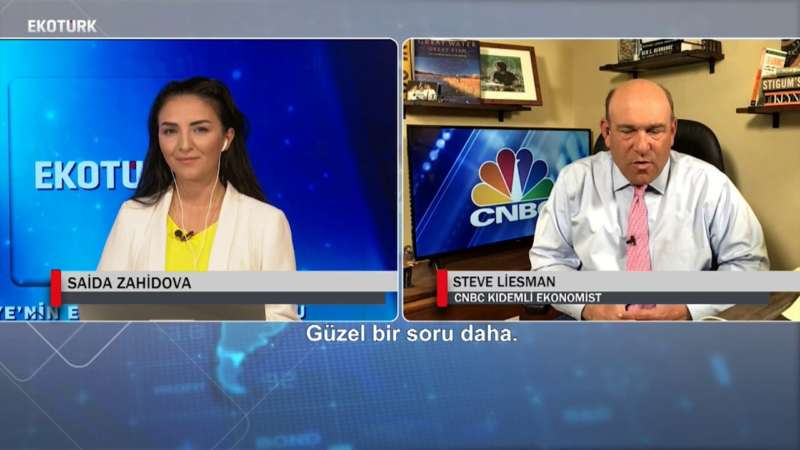 CNBC'nin Kıdemli Ekonomisti Steve Liesman'den Ekotürk'e özel açıklamalar!
