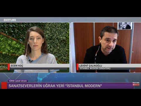 KÜLTÜR SANAT EKRANI SİZLERİ İSTANBUL MODERN'E GÖTÜRÜYOR!