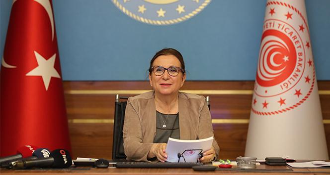 Bakan Pekcan: 'Bin 166 ihracatçımıza 2012'den 2020'ye kadar 635 milyon lira destek verdik'