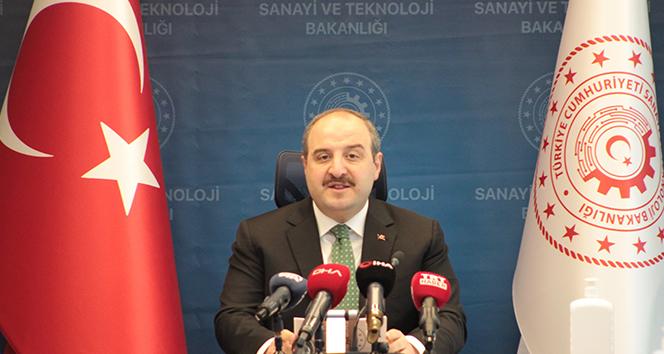 Bakan Varank: 'Türkiye bu makinelerin ihracatını da yapabilecek'